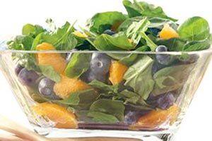 Blueberry And Orange Spinach Salad Recipe  http://www.food2goodhealth.com/Recipe/Everyday/Salads/Vegetable-Salad/Blueberry-And-Orange-Spinach-Salad-Recipe.aspx/1531.512_900990549.009_1