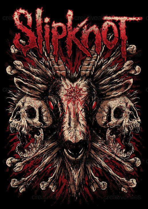 Slipknot, T shirts and Shirts on Pinterest