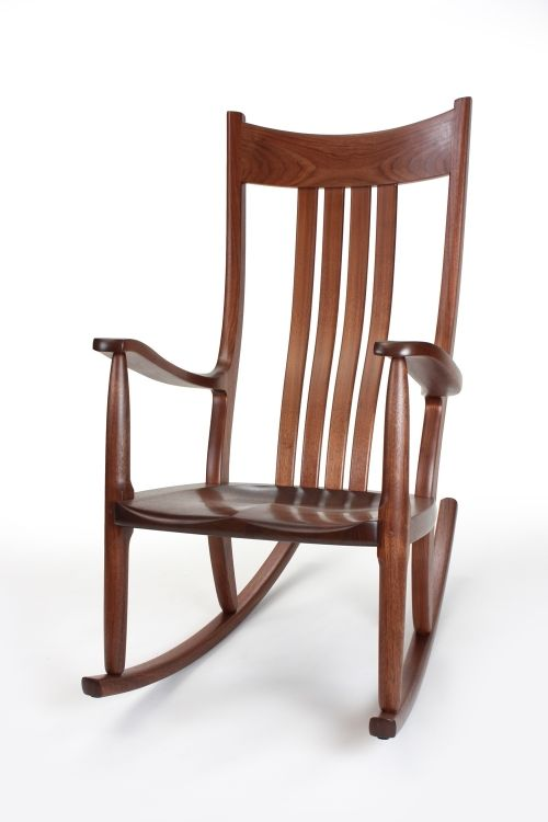 Walnut Walnut Rocking Chair