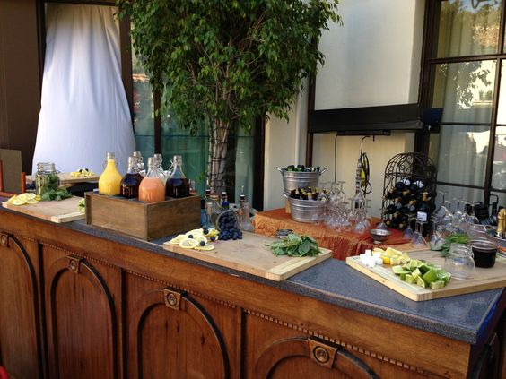Paradise Bar at the David Tutera Unveiled - Real Housewives of Beverly Hills Event