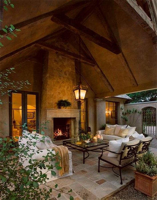 30 creative patio ideas and inviting backyard designs - Covered outdoor living spaces ...