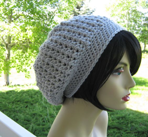 CROCHET PATTERN PDF - instant Digital Download - The Essence of Slouch Oversized Hat - CaN sell items made from this pattern on Etsy, $4.50