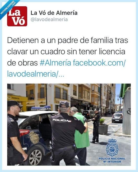 Una detención muy merecida, menudo temerario por  @lavodealmeria   Gracias a http://www.vistoenlasredes.com/   Si quieres leer la noticia completa visita: http://www.estoy-aburrido.com/una-detencion-muy-merecida-menudo-temerario-por-lavodealmeria/
