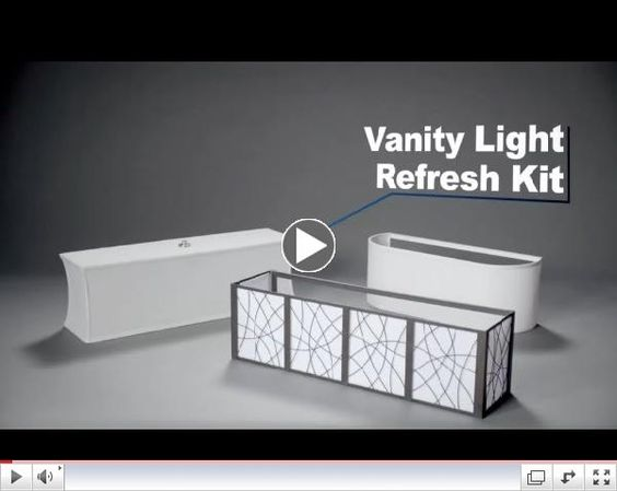 Vanity Light Refresh Kit Lowes : Lowes, Lighting and Vanities on Pinterest