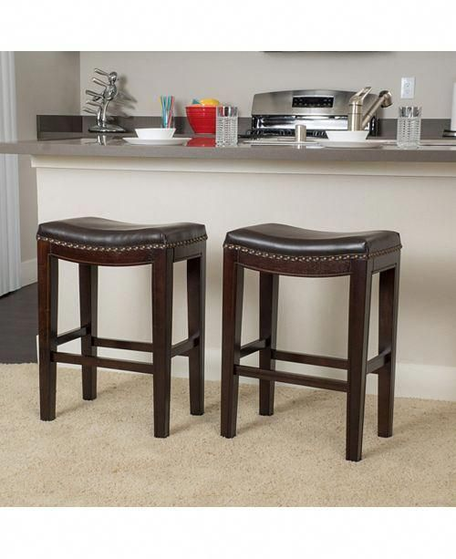 Noble House Set Of 2 Avondale Counter Stools Reviews Furniture