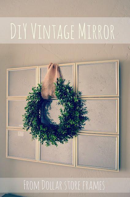 My Best Friend's Blog: Antique Mirror
