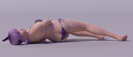 Ayane 3DS Render 26 by x2gon.deviantart.com on @DeviantArt