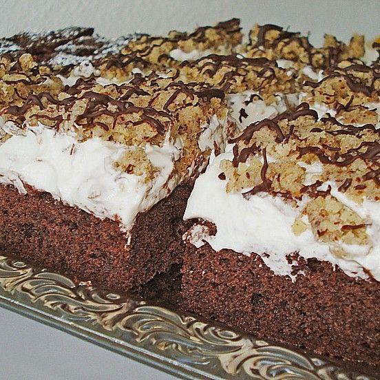 Nuss Sahne Kuchen Rezept In 2020 Kuchen Blechkuchen Und Kuchen Und Torten Rezepte