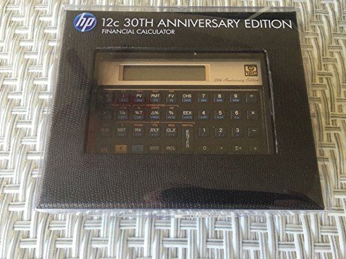 Hp C Financial Calculator Th Anniversary Edition Limited