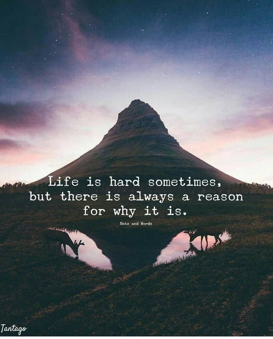 Life Is Hard Sometimes But There Is Always A Reason For Why It Is Life Is Hard Quotes Sometimes Quotes Life Is Hard Sometimes