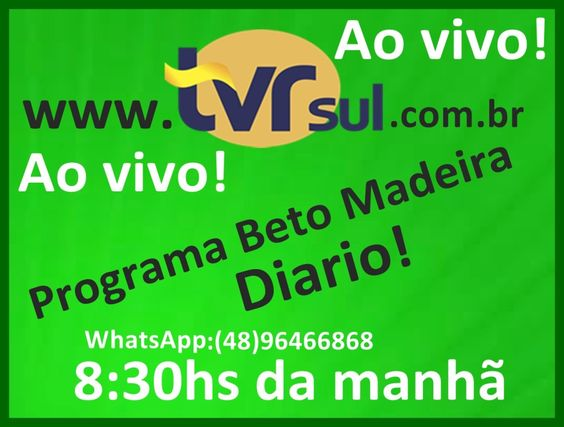 TVRsul: Web TV e Rádio