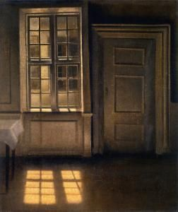 Interior. Strandgade 30 Vilhelm Hammershøi - 1906