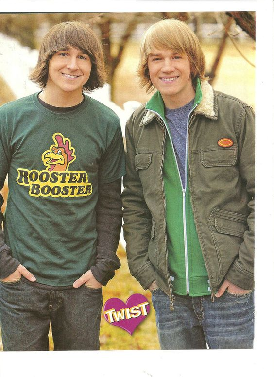 Jason Dolley and Mitchel Musso, Full Page Pinup