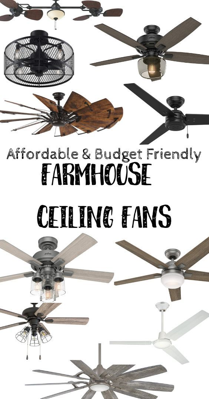 Best Farmhouse Ceiling Fans In 2020 Farmhouse Ceiling Fan Living Room Ceiling Fan Farmhouse Decor Living Room