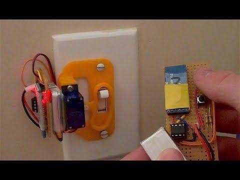 Remote Control Bluetooth Light Switch 4 Steps With Pictures Bluetooth Light Switch Light Switch Bluetooth Gadgets