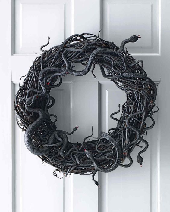 Wriggling Snake Wreath | Martha Stewart