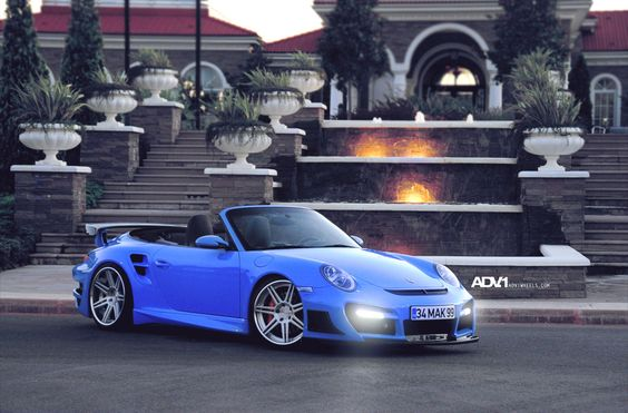 Blue 997TT