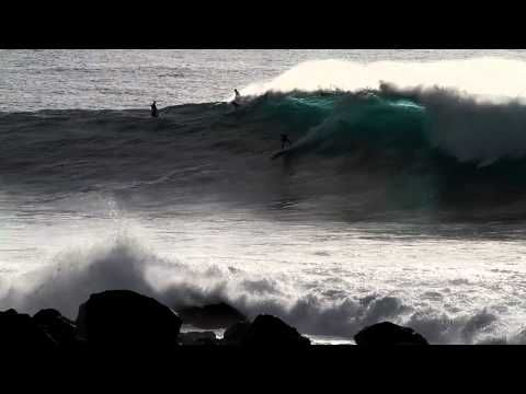 I learn a lot from Will Skudin and Cliff Skudin - Hurricane Chasers, dedication, passion, commitment, self discovery, surfers need to be dialed in to survie in the waves, I admire the way these guys dial in.
