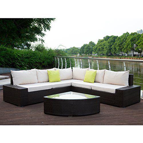 Pe Rattan Wicker Sofa Outdoor Sectional