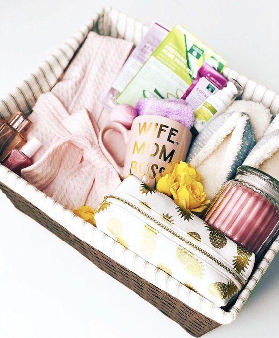 Mother's Day gift basket #sobras