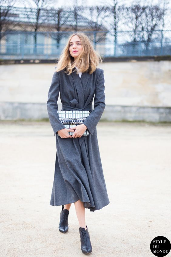go for grey. Candela in Paris. #CandelaNovembre