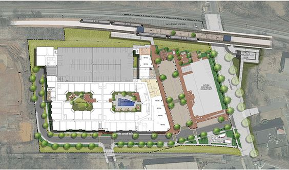 Crescent #NoDa plan. Great upcoming retail spaces + Apts in #Clt