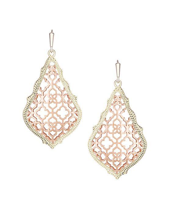 Addie Earrings in Rose Gold - Kendra Scott Jewelry.