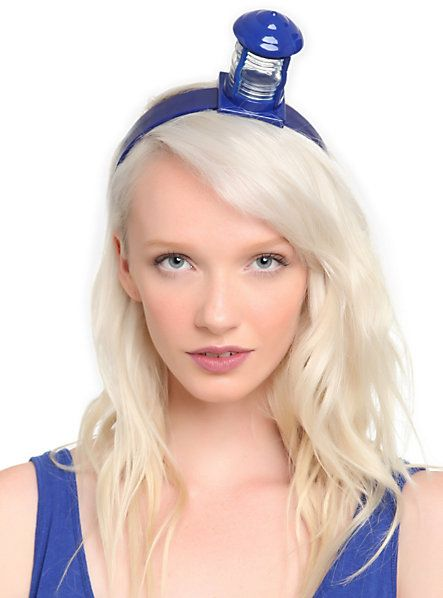 Doctor Who TARDIS Cocktail Headband | Hot Topic