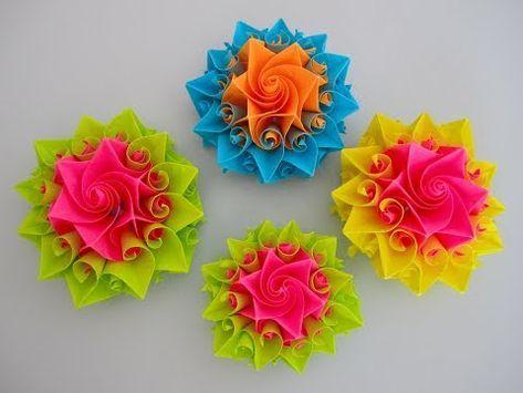 Origami Cherry Blossom - Origami Easy - YouTube | 355x473