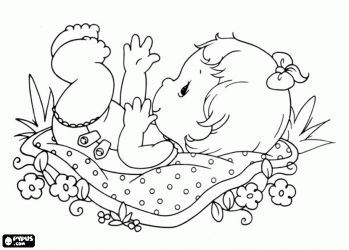 New Baby Girl Coloring Pages Coloring Pages