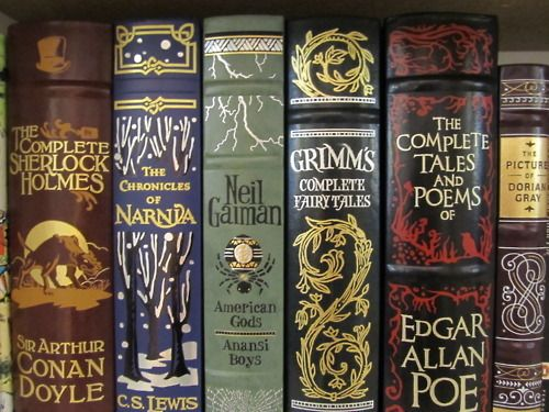 Literary Classics - Sir Arthur Conan Doyle, C.S. Lewis, Neil Gaiman, the Brothers Grimm, Edgar Allan Poe, and Oscar Wilde.