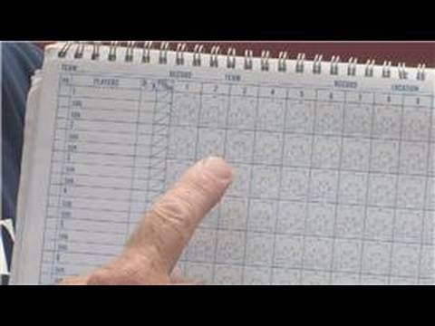 How To Use A Baseball Scorebook  Sports Drills And Coaching