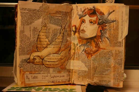 sketch book page- tattoo by ~i-doll-creative on deviantART