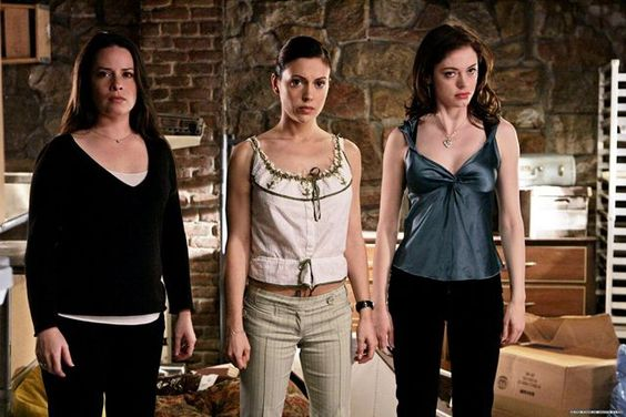 my favorite! learnt so much with them! via #refinery29  http://www.refinery29.com/2015/03/83719/supernatural-female-characters#slide-4  Piper, Phoebe, and Paige, Charmed (1998-2006)Along with their ill-fated big sis Prue (Shannen Doherty), this witchy trio (Holly Marie Combs, Alyssa Milano, and Rose McGowan) took on every demon and warlock imaginable thanks to superhuman skills, which ranged from telekinesis to ESP.