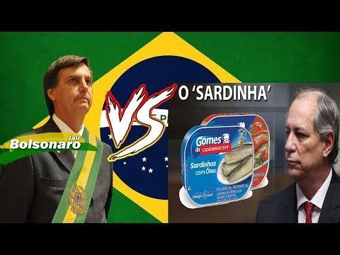 MITO VS SARDINHA - Bolsonaro tira a máscara de Ciro Gomes ...