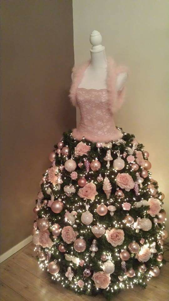 Dress Form Christmas Tree Home Decor Ideas