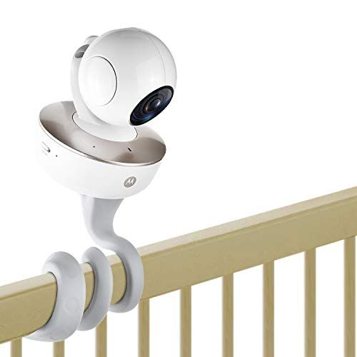 Baby Monitor Mount Universal Baby Monitor Holder For Crib Or Wall Shelf Strong Clamp Bracket Compar In 2020 Baby Monitor Mount Motorola Baby Monitor Baby Monitor