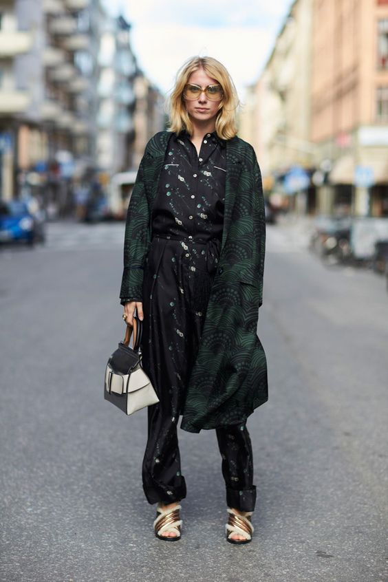 What is worn on the streets of Stockholm?