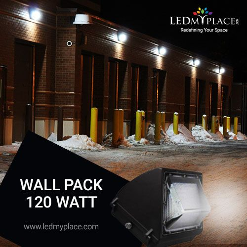 Led Wall Pack 120w 5700k Forward Throw 15 194 Lumens Wall Packs Wall Pack Lights Wall