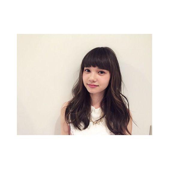 ぱっつん前髪のマーシュ彩