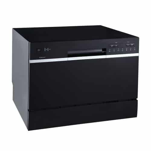 Top 10 Best Compact Dishwashers In 2020 With Purchasing Guides For Buyers Countertop Dishwasher Black Dishwasher Portable Dishwasher