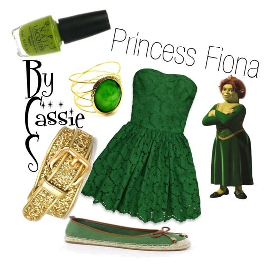 """Princess Fiona"" by lilcassie7 on Polyvore"