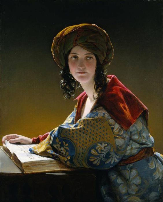 Friedrich von Amerling, The Young Eastern Woman, 1838