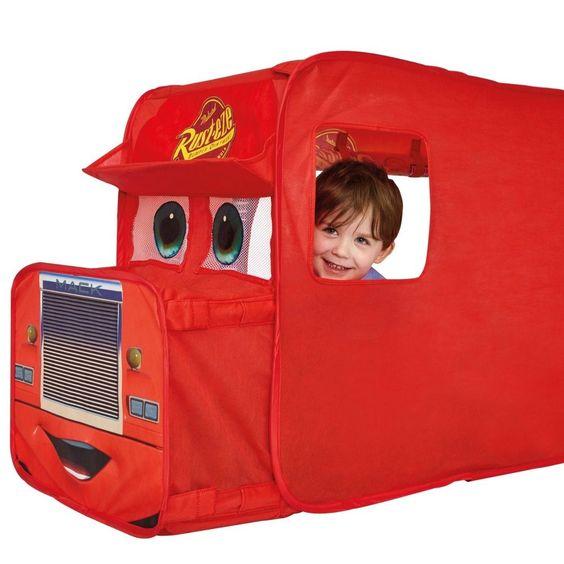 #Ebay #Mack #Transporter #Tent #Truck #Play #Disney #Cars #Boys #Pop #Up #Imaginative #Foldable