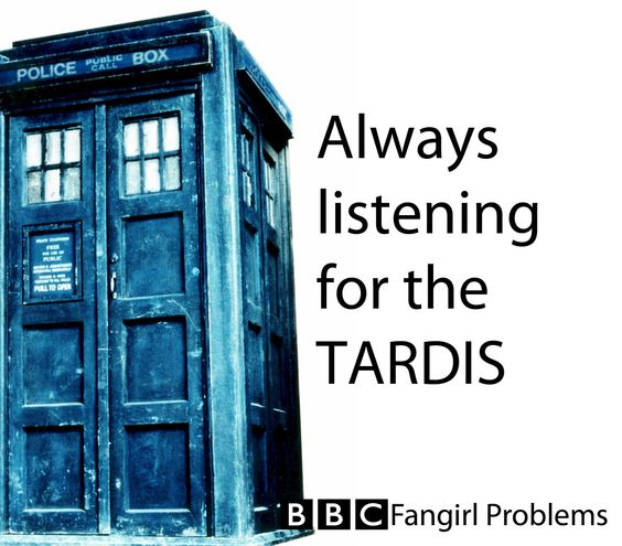 BBC Fangirl Problems.  Also, did you know the sound is made from rubbing a key on a piano string!