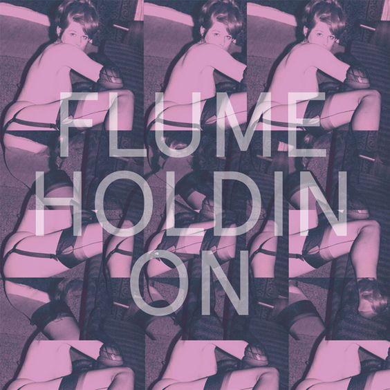 Flume, T.Shirt – Holdin On (single cover art)