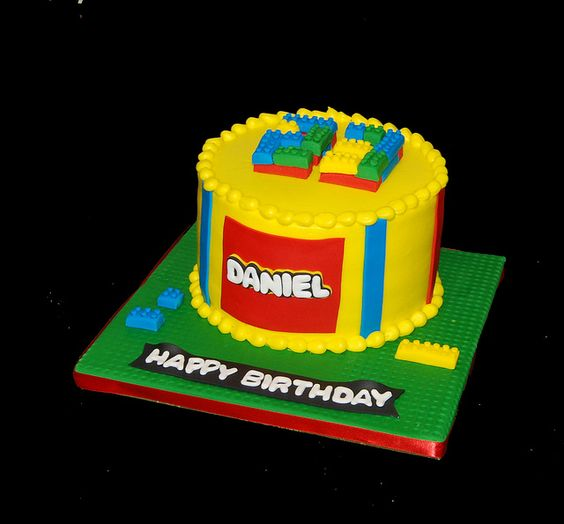 23rd birthday - building blocks by Simply Sweets, via Flickr