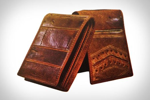 Coach Designs Wallets Made Of Vintage Baseball Gloves - I bet Carl would love one of these!