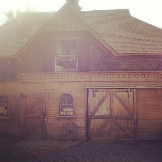 Carriage House Built In The 1800's