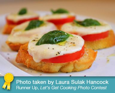 Giada De Laurentiis - Baked Caprese Salad